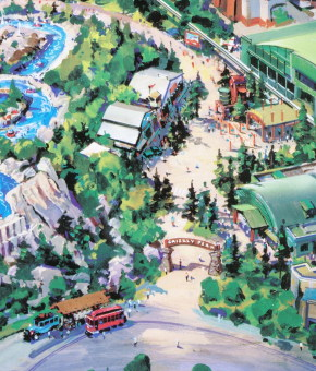 Grizzly Peak Recreation Area Entrance - Concept Art