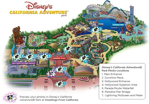 Disney's California Adventure (2007 map)