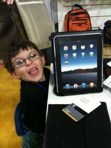 I have an iPad!