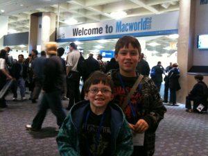 MacWorld Here We Are!