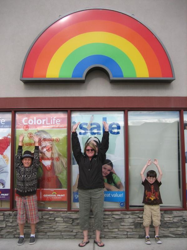 rainbow-sign