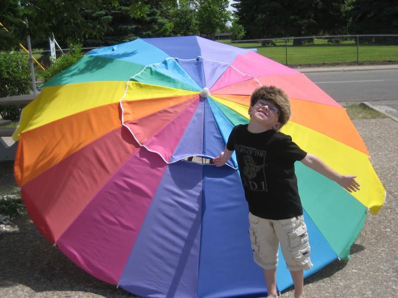 rainbow-umbrella
