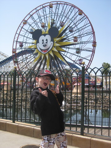 Thumbs Up for Mickey's Fun Wheel