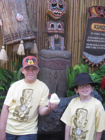 Dole Whip and Enchanted Tiki Room Garden