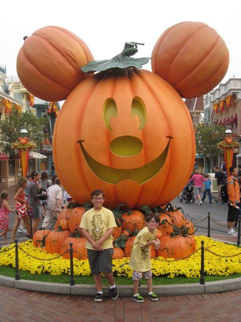 Pumpkin on Main Street