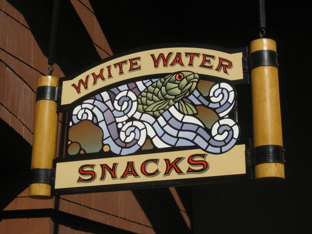 Great snack place at Grand Californian Hotel