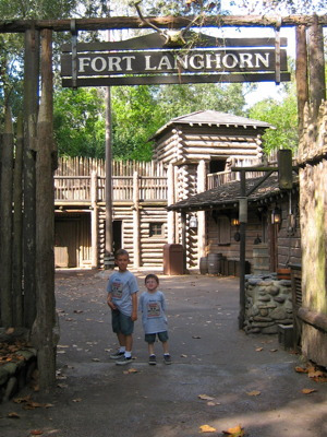 Fort Langhorn at the Magic Kingdom