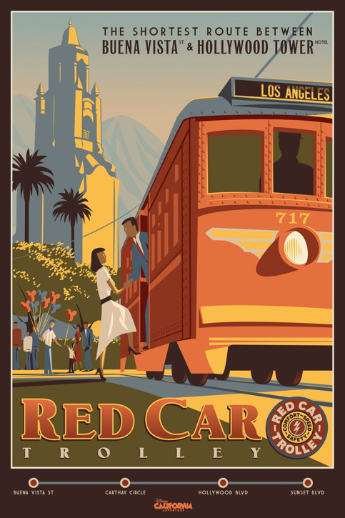 red-car-trolley