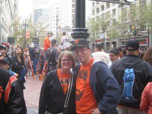Two Giants Fans